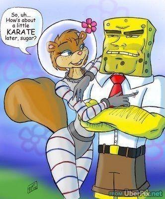 Spongebob  Sandy Autors: CMONLYY Multeņu varoņi arī aug.