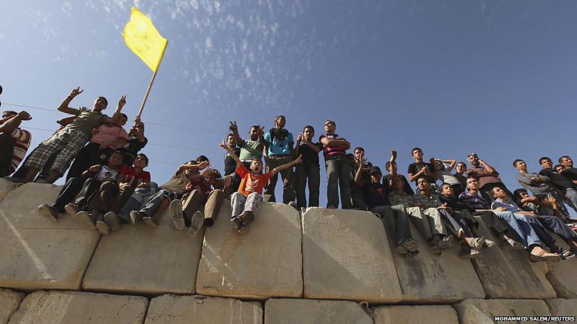 Vairāk nekā 100000 cilvēku... Autors: žeņa Week in pictures: 15-21 Oktobris
