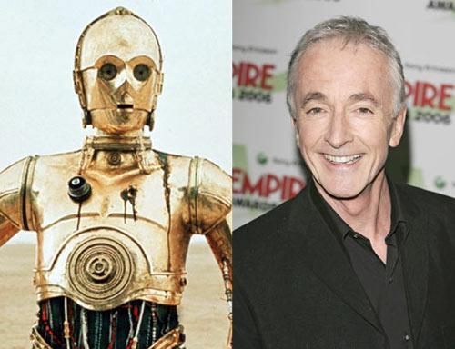 Anthony Daniels C3P0 Autors: Edgarinshs Star-wars aktieri pēc 30 gadiem