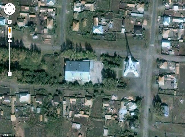 skats no google satelīta uz... Autors: ghost07 Krievijas ciems - Parīze