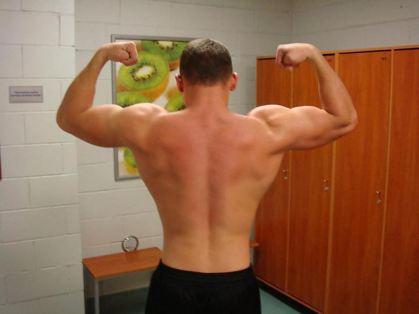 Pagājuši 22 mēneši svars 90kg Autors: Tehnogym Fitnesa trenera pārvērtības +33kg muskuļu masas