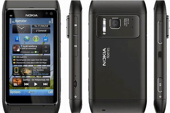 Nokia n8 Autors: Kowalski Gorilla Glass.