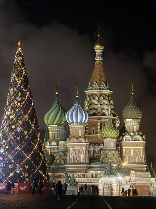 Sarkanais laukums Maskava Autors: Fosilija Svētku noskaņās