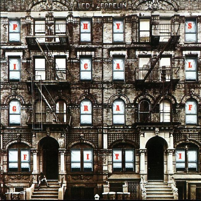 Led Zeppelin Physical Graffiti Autors: pofig Albūmu vāki vs Google