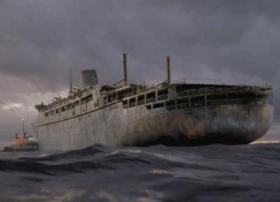 Kuģis spoks Uzņemta kāda... Autors: Administrācija Beigti kuģi