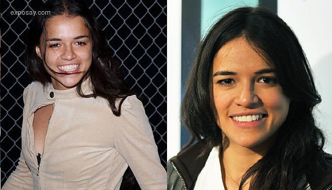 Michelle Rodriguez Autors: Kobis Filmu zvaigznes jaunībā un tagad