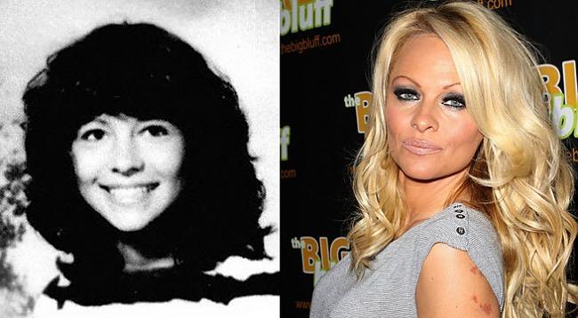 Pamela Anderson Autors: Kobis Filmu zvaigznes jaunībā un tagad