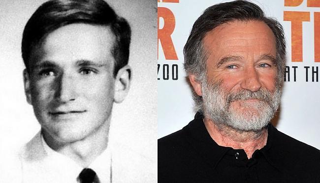 Robin Williams Autors: Kobis Filmu zvaigznes jaunībā un tagad