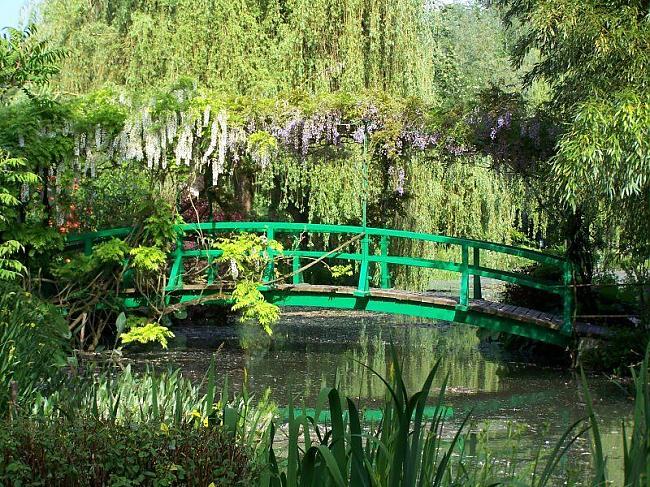 Kloda Monē dārzs Givernijā... Autors: wildkuilisNEWS6 Pasaules skaistākie dārzi