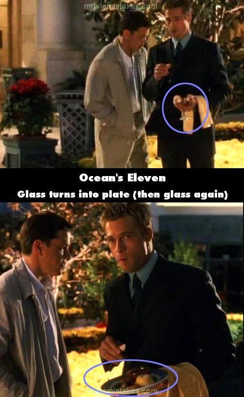 Oceans Eleven Autors: lāsmaM Filmu kļūdas