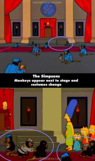 The Simpsons Movie Autors: lāsmaM Filmu kļūdas