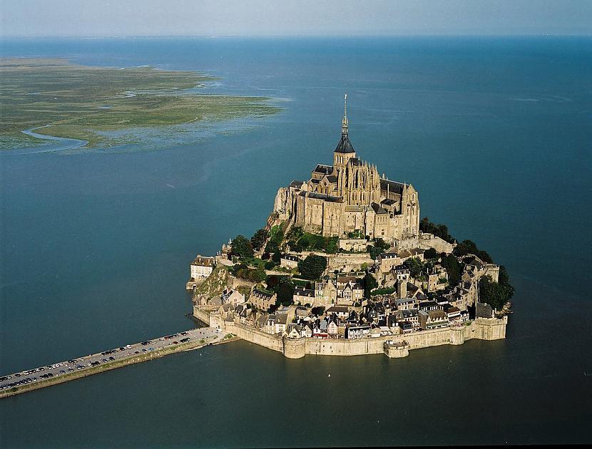 Sala ir aptuveni 1... Autors: Fosilija Mont St. Michel