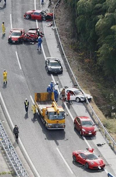 Autors: nascar2006 Dārgākā autoavārija-Japāna