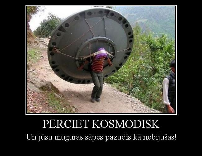 Autors: Pika4huu Pērciet kosmodisk