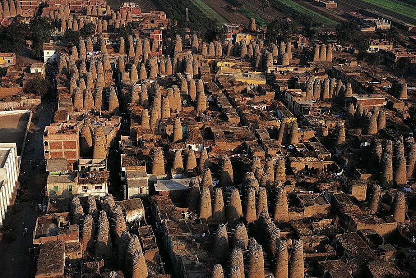 Baložu mājas Ēģipte Autors: KorAva Tā izskatās mūsu mājas no augšas