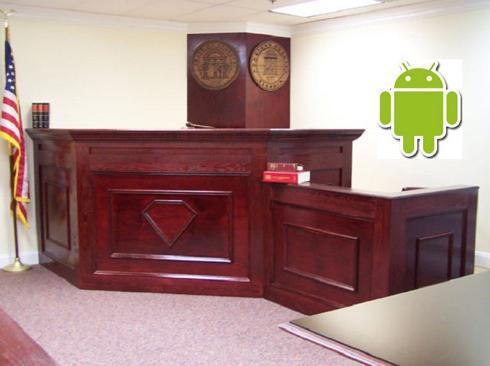 Ar patentiem saistītas tiesas... Autors: Crop Google iesūdzēts tiesā.