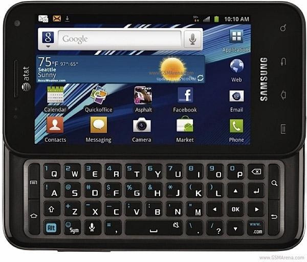 Samsung i927 Captivate Glide... Autors: estrella Jaunākie telefoni. 11. daļa.