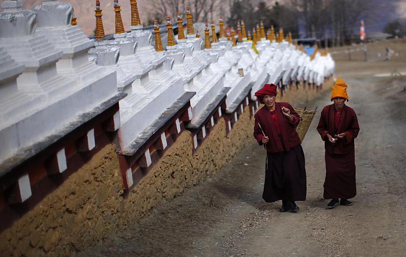Jau atpakaļceļā no Daofu... Autors: gnosin Tibetiešu sieviešu klosteris