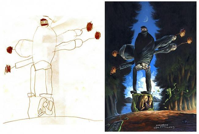 Autors: rabit Bērnu zīmējumi top par mākslu!