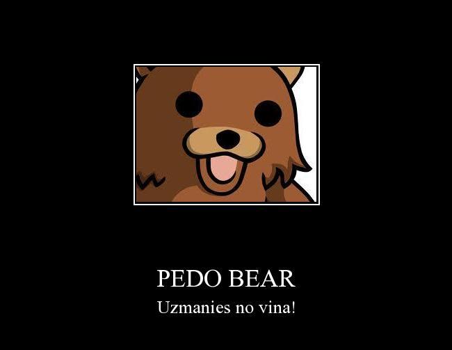 Autors: Fosilija Pedo bear