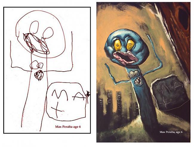 Autors: Lācis777 Bērnu zīmējumi, kas pārtaisīti par īstiem mākslas dar