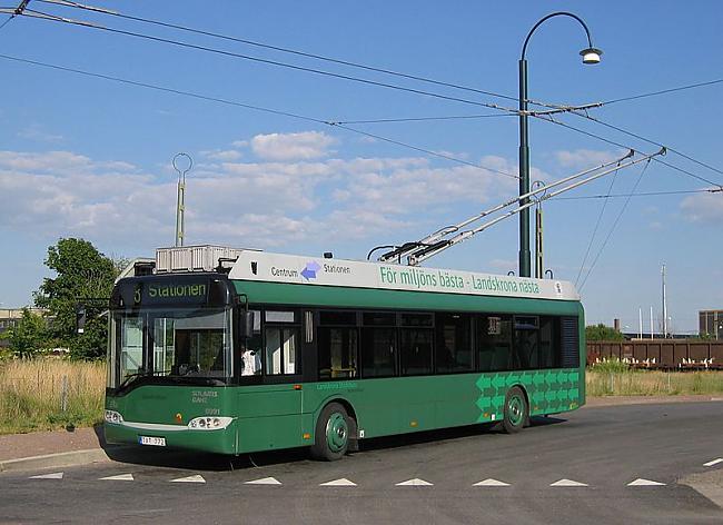 Zviedrijas trolejbusi Autors: trions Trolejbusu satiksme pasaulē