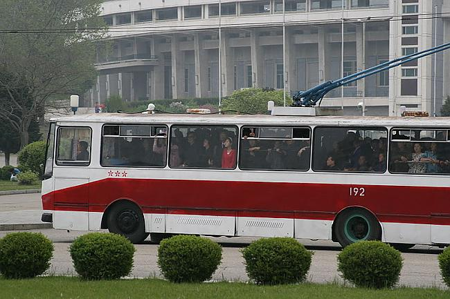 Ziemeļkorejas trolejbusi Autors: trions Trolejbusu satiksme pasaulē