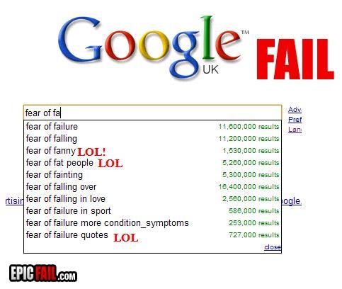 Autors: 8 Epic Fail