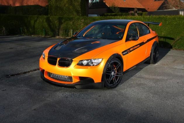 Vācu tūninga kompānija Manhart... Autors: Fosilija 'Manhart' pārveidotais 'BMW M3' ar