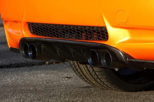 Šis pārpbūvētais BMW no vietas... Autors: Fosilija 'Manhart' pārveidotais 'BMW M3' ar