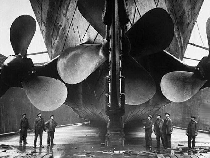 Dzenskrūves diametrs 76 metri Autors: Grebe Titanic pirmais un pēdējais jūrasbrauciens