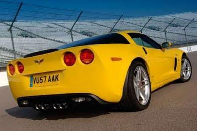 45 Corvette Z06  190mph Autors: PankyBoy 50 ātrākie auto pasaulē