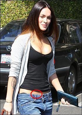 Megana FoksaBrian busu uz muzu... Autors: lanchoo Visstulbaakie slaveniibu tetoveejumi-bez vardiem!