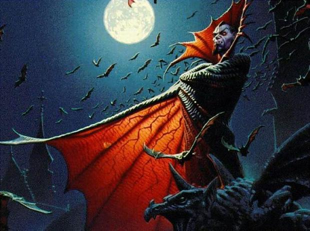 Vampīrs ir mitoloģijā vai... Autors: The Diāna populārākie helovīna briesmoņi