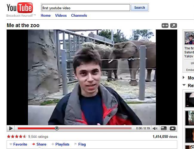PIRMAIS YOUTUBE VIDEO Pirmajā... Autors: Citizen Cope Pirmie internetā
