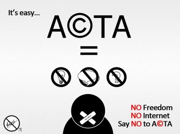 Vairākas starptautiskās... Autors: Fosilija ACTA ir klāti un internetam lielas briesmas nāk !