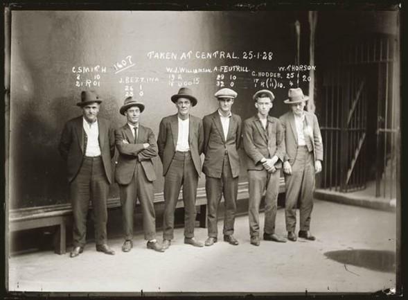 Mafijas locekļi kas... Autors: Santa Maria de Claus Gangsteri 20. gadsimta sākumā