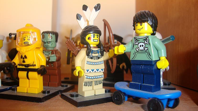 Autors: Fosilija Mani ''Lego'' cilveciņi (Minifigure