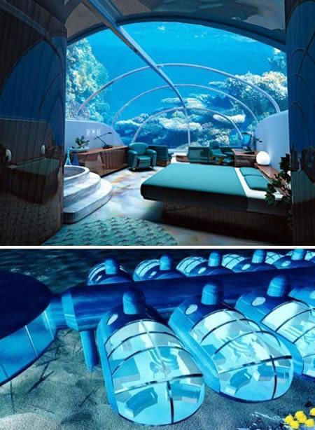Guļamitaba 40 pēdas zem ūdens Autors: AldisTheGreat 12 Superīgas guļamistabas.