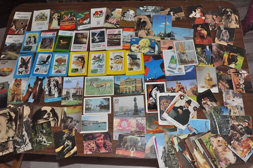 Autors: Nikon259 Mājās atradu kartīšu kolekciju.!