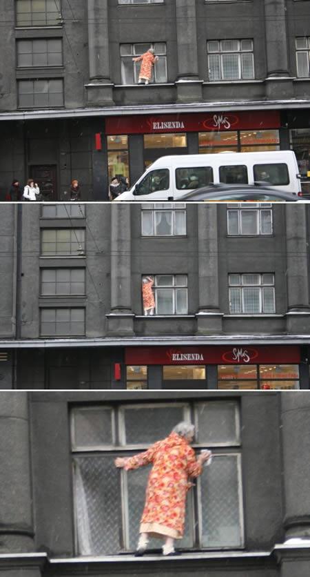 Trakā ome Autors: AldisTheGreat 12 Bezbailīgi logu tīrītāji.