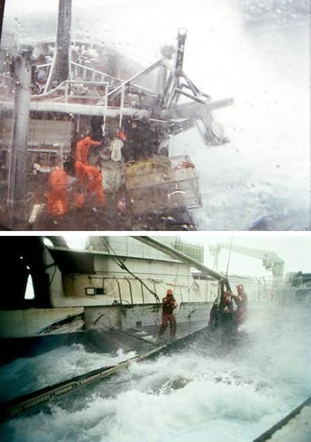 ZvejniekiPirmajā momentā... Autors: Laur1s Bīstamākie darbi pasaulē