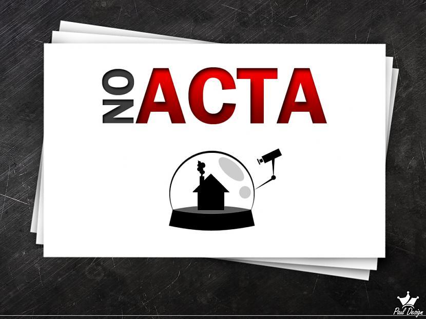 Vienīgais kas satrauc ir tā... Autors: Fosilija Die ACTA die !!!!