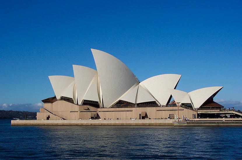 Sydney opera house  Autors: reinars22 Pasaules skaistākās celtnes.