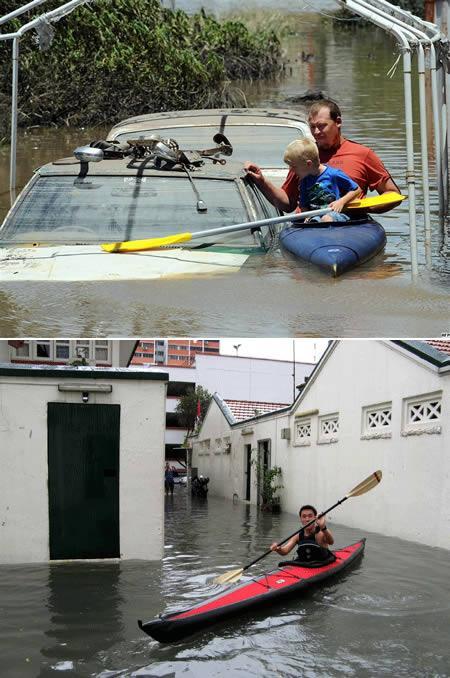 Atrodi kādu citu veidu kā... Autors: AldisTheGreat 13 Asprātīgi atrisinājumi kā pārdzīvot plūdus.