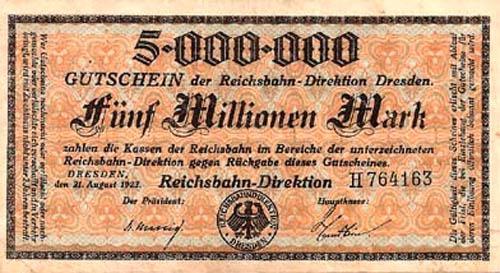 5 miljoni markasnbspScaronī... Autors: Fallenbeast Vislielākās banknotes pasaules vēsturē