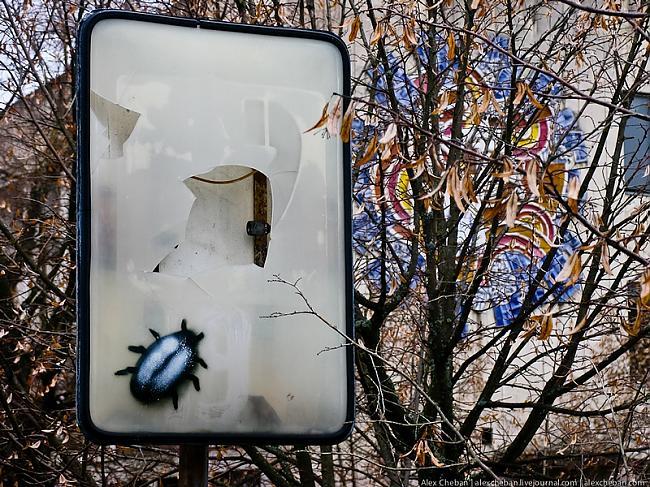Autors: Nikolajs Nerušs Graffiti mirušajā pilsētā