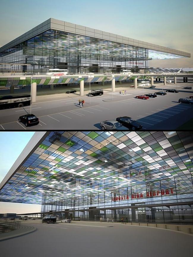 Rīgas lidosta Autors: ghost07 Rīga nākotnē pēc 50 gadiem