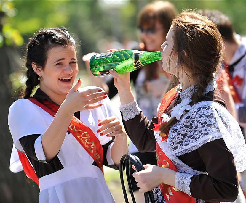 Autors: Fosilija Pēdejais skolas zvans (2012)vienā no Ukrainas skolām.