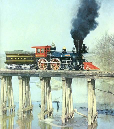 Endrjūss ar saviem vīriem... Autors: YogSothoth Lielā lokomotīvju pakaļdzīšanās